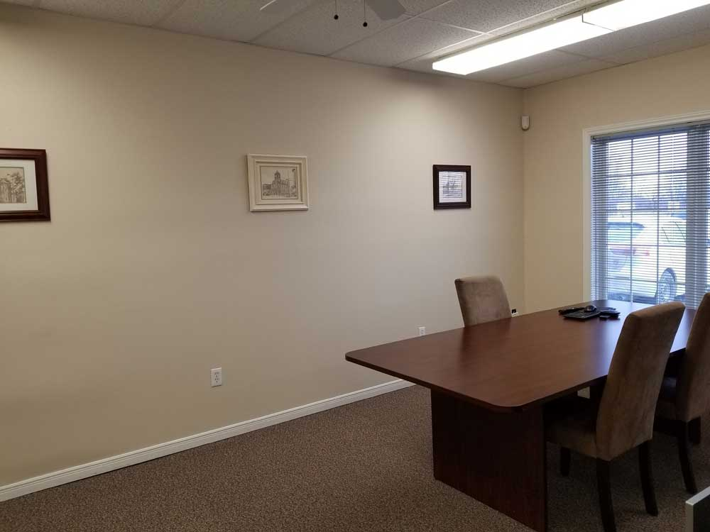 Belleville boardroom of the new IBW Surveyors office