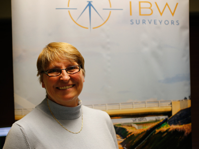 Crystal Cranch, O.L.S., President, IBW Surveyors
