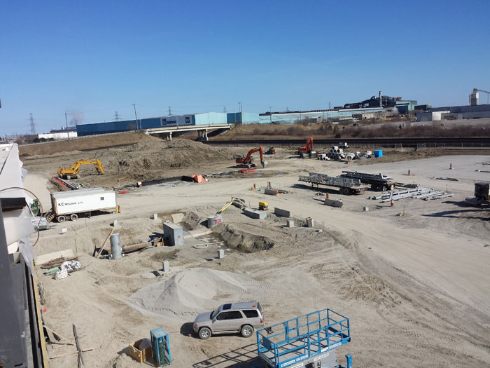 East Rail Maintenance Facility Whitby – Construction Layout