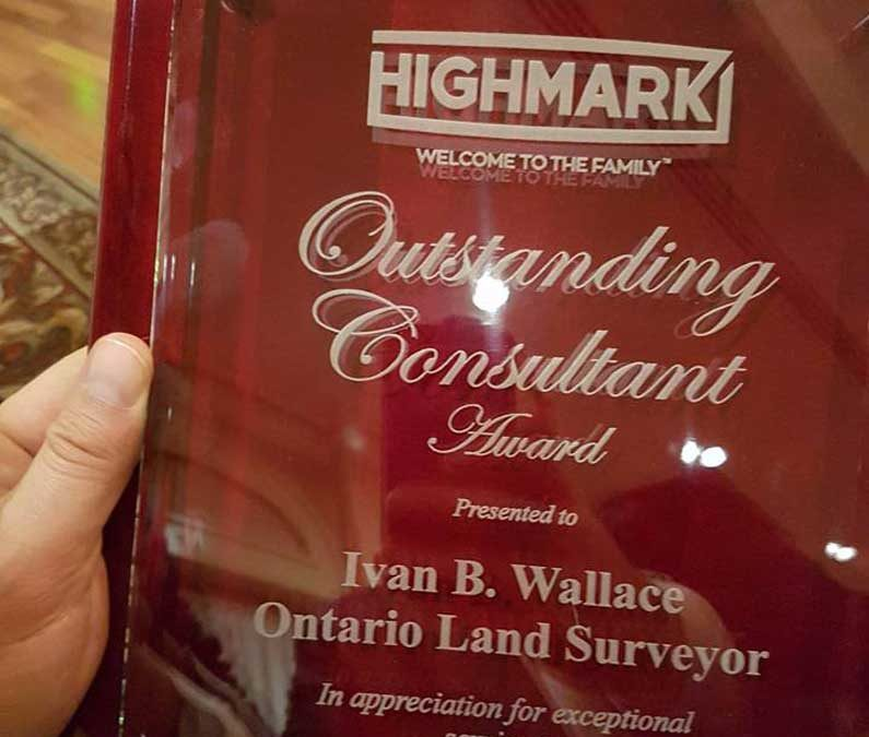 IBW Surveyors Named Outstanding Consultant for 2016!