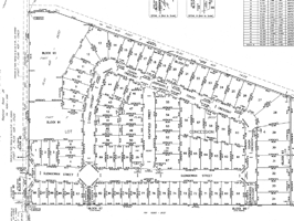 Sample Subdivision Development Plan