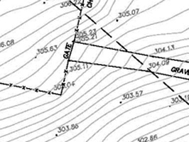 Sample Topographic Survey Plan